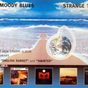 moody blues strange times NEW 1999 promo poster